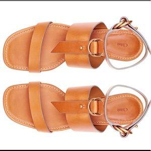 CHLOE✨Kingsley scrumptious leather sandals